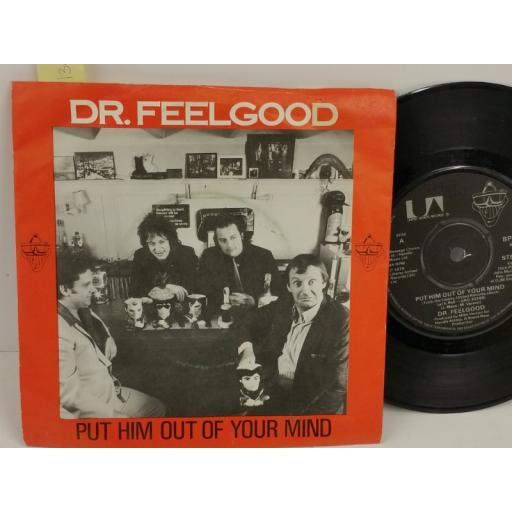 DR FEELGOOD put him out of your mind, PICTURE SLEEVE, 7 inch single, BP 306