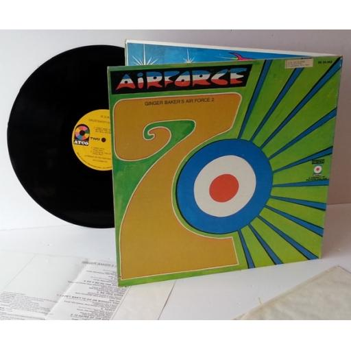 ginger baker's air force GINGER BAKER'S AIR FORCE