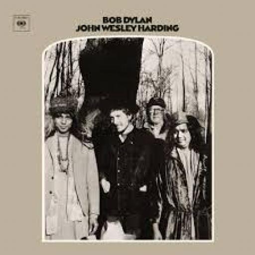 BOB DYLAN John Wesley Harding. SA pressing