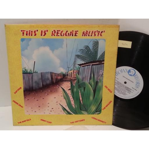 ZAP POW, THE WAILERS, JOE HIGGS, JIMMY CLIFF, THE MAYTALLS, LORNA BENNETT, OWEN GRAY, THE HEPTONES this is reggae music, TRLS 104