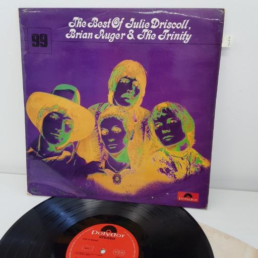 "JULIE DRISCOLL, BRIAN AUGER AND THE TRINITY, the best of julie driscoll, brian auger and the trinity, 12""LP, 2334 004"