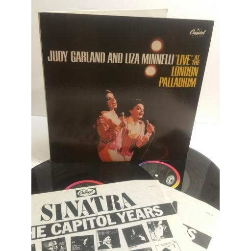 "JUDY GARLAND AND LIZA MINNELLI ""Live"" at the London Palladium EM1249"