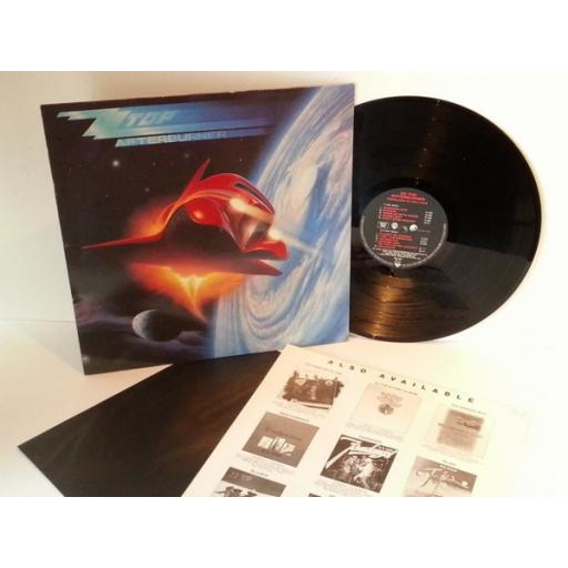 Z Z Top AFTER BURNER First EU pressing 1985