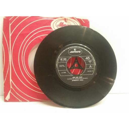 """APHRODITE'S CHILD don't try to catch a river & rain and tears 7"""" SINGLE 132501"""