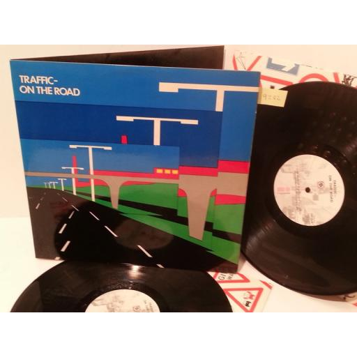 TRAFFIC on the road, double album, ISLD 2, gatefold