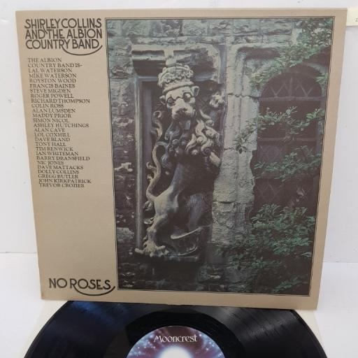 "SHIRLEY COLLINS AND THE ALBION COUNTRY BAND, no roses, CREST11, 12"" LP"
