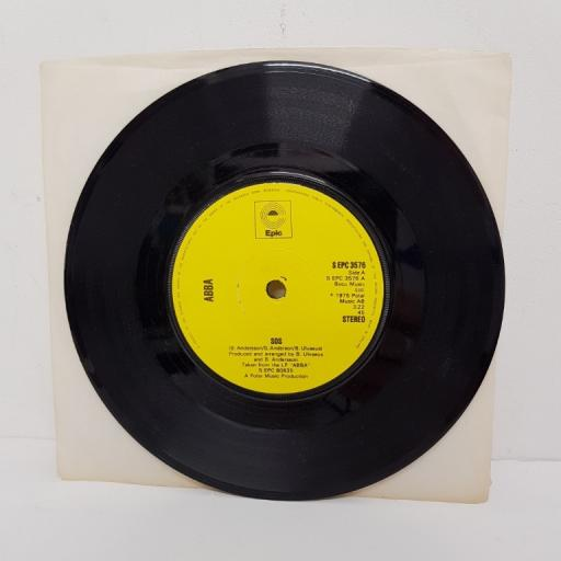 "ABBA, sos, B side man in the middle, S EPC 3576, 7"" single"