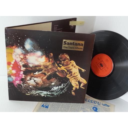 SOLD: SANTANA 3, 69015, gatefold