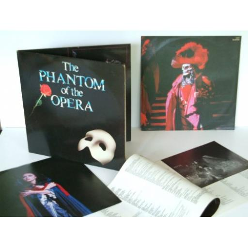 ANDREW LLOYD WEBBER, Michael Crawford, Sarah Brightman, The Phantom of the Opera. PODV9