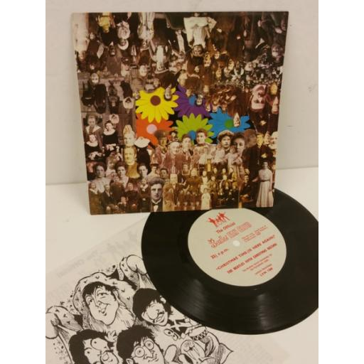 THE BEATLES christmas time (is here again), 7 inch flexi disc, insert, LYN 1360