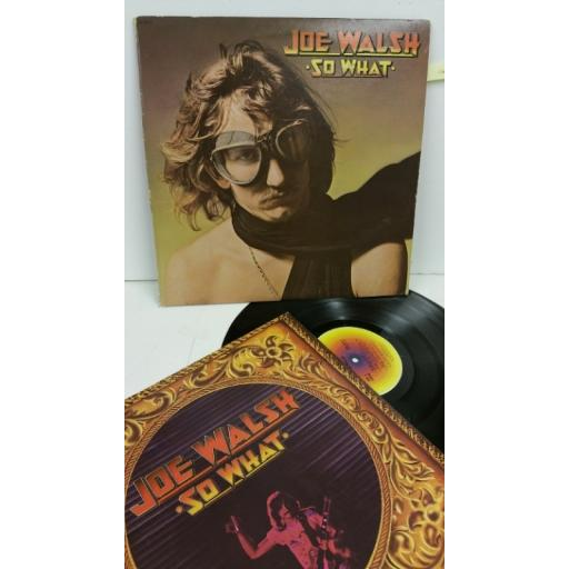 JOE WALSH so what, DSD 50171