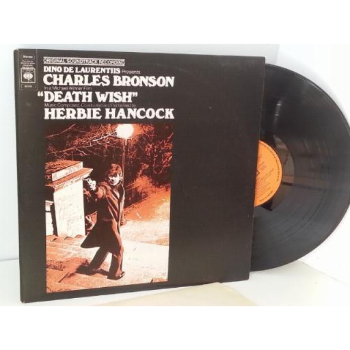 HERBIE HANCOCK death wish original soundtrack recording, 80546