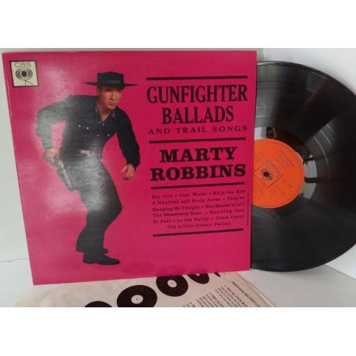 MARTY ROBBINS gunfighter ballards and trail songs