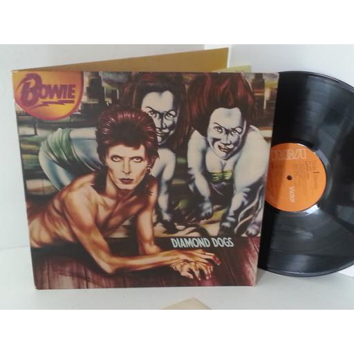 DAVID BOWIE diamond dogs, APL1 0576, gatefold