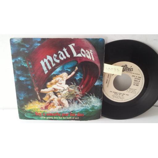 "MEATLOAF voy a amarla por los dos (i'm gonna love her for both of us), SPANISH PRESSING PICTURE SLEEVE 7"" single, EPC A 1580"