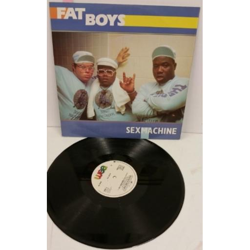 FAT BOYS sex machine, 12 inch single, U8674 T