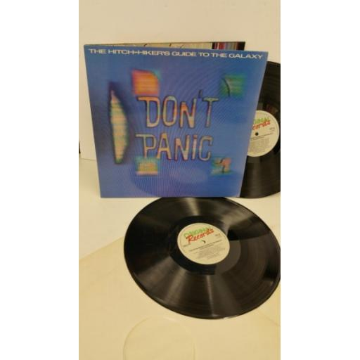 DOUGLAS ADAMS the hitch-hiker's guide to the galaxy, gatefold, 2 x lp, ORA 42