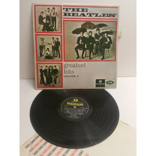 THE BEATLES greatest hits volume 2 S-LPEA1002