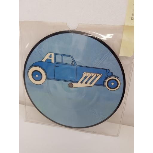 THE CARS, just what i needed, side B i'm in touch with your world, K 12312, PICTURE VINYL, 7'' single