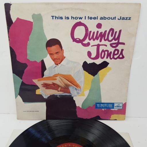 "QUINCY JONES, this is how I feel about jazz, CLP.1162, 12"" LP, mono"