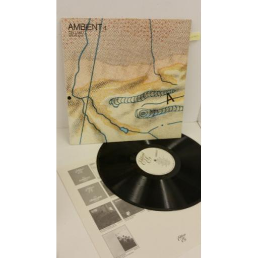 BRIAN ENO ambient #4 on land, EGED 20