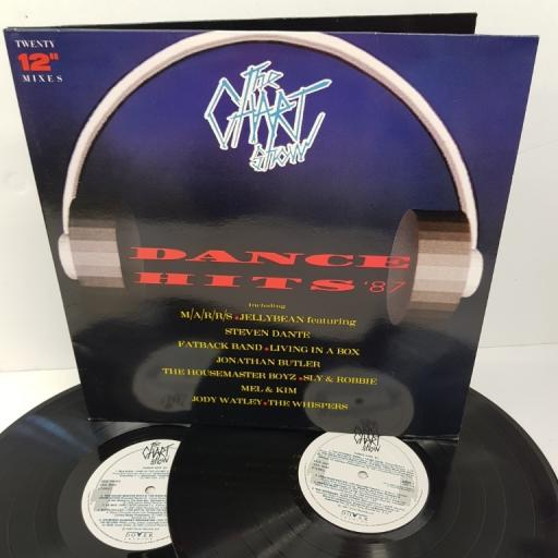 "THE CHART SHOW - DANCE HITS '87, ADD 1, 2x12"" LP, compilation"