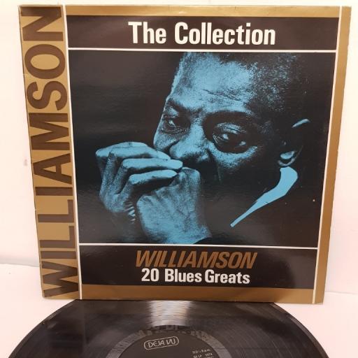 "SONNY BOY WILLIAMSON, the collection - 20 blues greats, DVLP2074, 12"" LP"