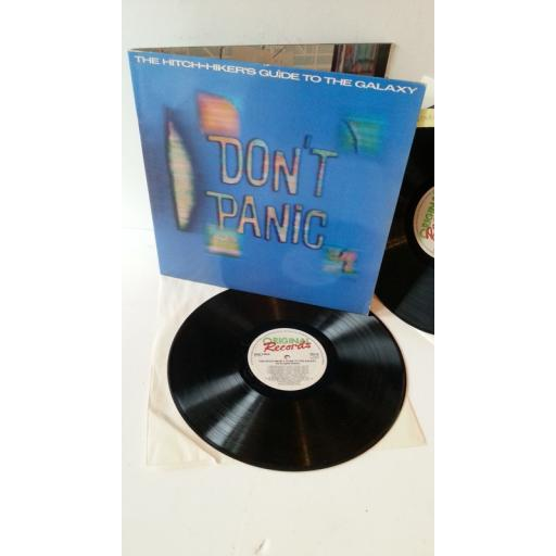 DOUGLAS ADAMS the hitch hikers guide to the galaxy, 2 x vinyl, gatefold, ORA 42