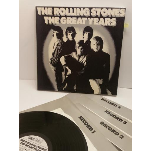 THE ROLLING STONES the great years(box set), RDS 9962