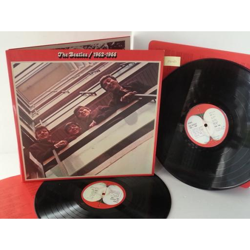 THE BEATLES 1962-1966, gatefold, double album, PCS 7171