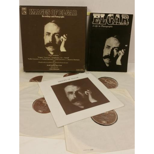 ELGAR images of elgar - recordings and photographs, 5 x lp, booklet, boxset, RLS 708