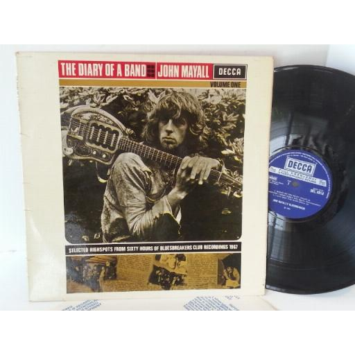 JOHN MAYALL the diary of a band volume one