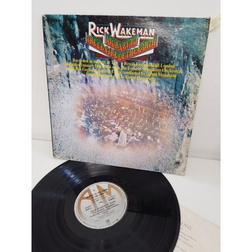 RICK WAKEMAN journey to the centre of the earth, stereo, SP 3621