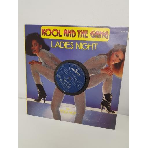 "KOOL & THE GANG, ladies night, B side too hot, KOOL 12, 12"" single"
