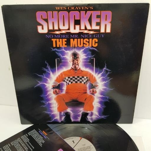 "WES CRAVEN'S SHOCKER (THE MUSIC), K1 93233, 12"" LP"