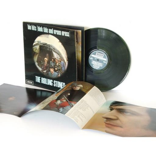 SOLD out of stock THE ROLLING STONES, big hits high tide and green grass. First UK pressing, MO...