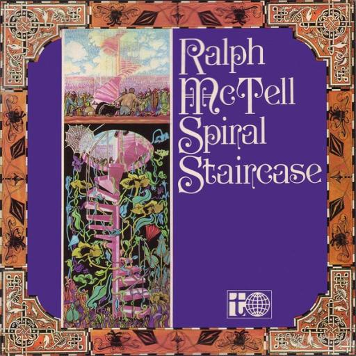 Ralph McTell SPIRAL STAIRCASE. First UK pressing on the white and black planet Transatlantic label, 1969
