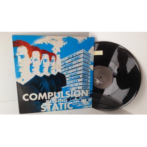 COMPULSION KISSING STATIC juvenile scene detective, 12 inch vinyl, 115TP12ST, promo