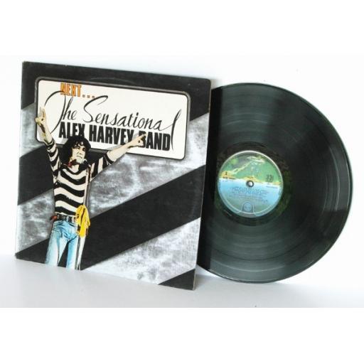 THE SENSATIONAL ALEX HARVEY BAND next Spaceship label. 6360103 First UK pressing 1973...