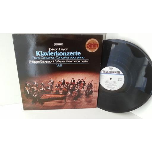 JOSEPH HAYDN, PHILIPPE ENTREMONT, WIENER KAMMERORCHESTER klavierkonzertevol 1, 6.42701