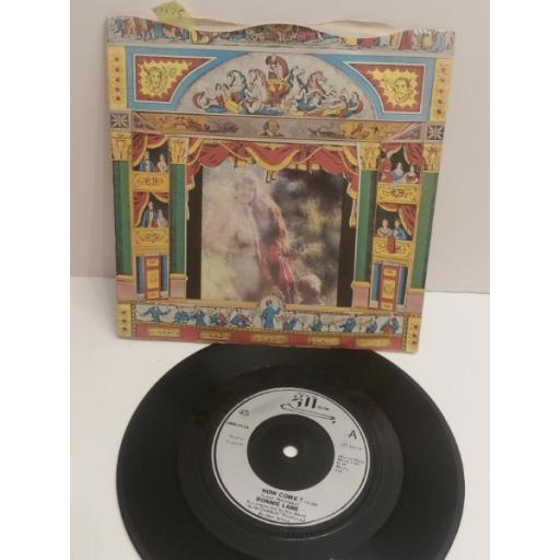 """RONNIE LANE & Slim Chance. How come? & tell every one & done this one before GMS011. 7"""" PICTURE SLEEVE SINGLE"""