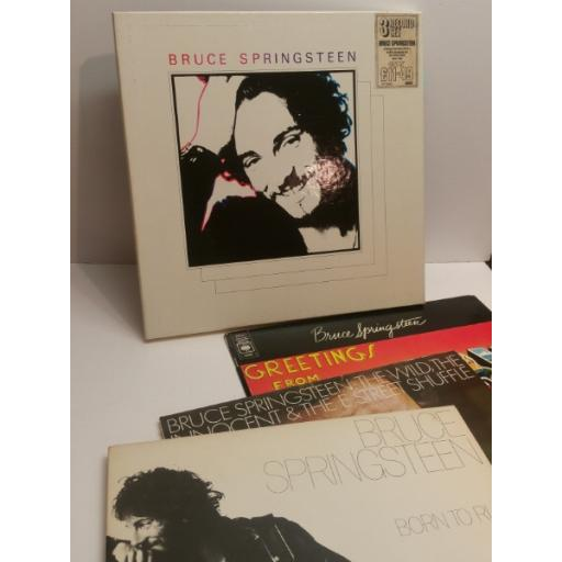 BRUCE SPRINGSTEEN 3 RECORD SET Greetings from Asbury Park N J, The Wild The Willing The Innocent, Born to Run 66353