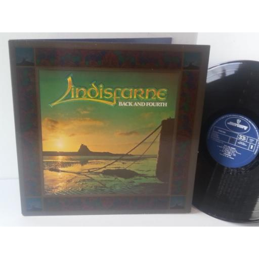 LINDISFARNE back and fourth, gatefold, 9109 609