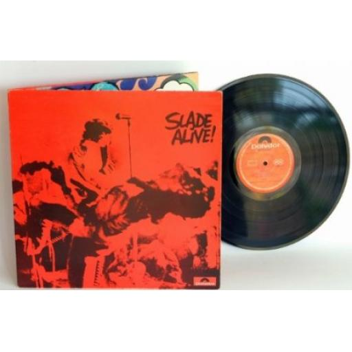 Slade, SLADE ALIVE. First UK pressing 1972