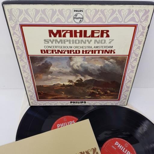 "Mahler - Concertgebouw Orchestra, Amsterdam, Bernard Haitink – Symphony N° 7, 6700 036, 2x12"" LP, box set"