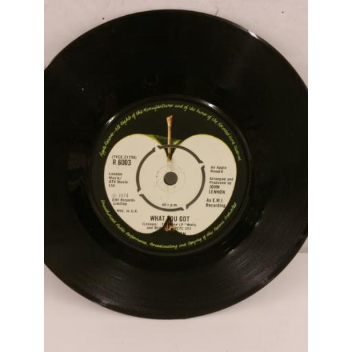 JOHN LENNON #9 dream, 7 inch single, R 6003