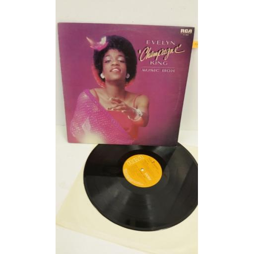 EVELYN 'CHAMPAGNE' KING music box, PL13033