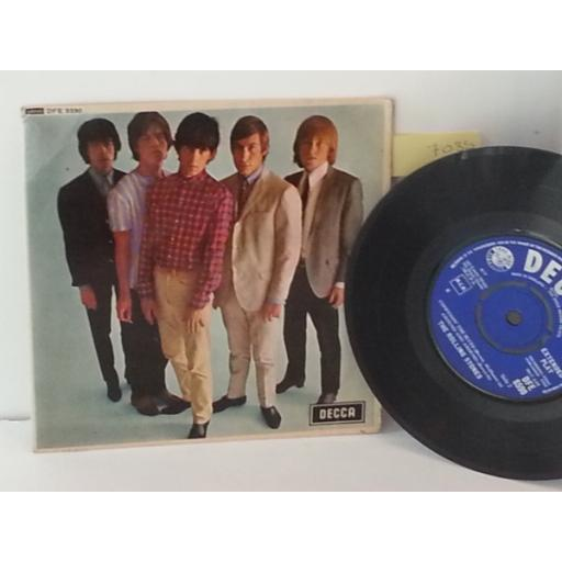THE ROLLING STONES five by five, 7 inch single, DFE 8590
