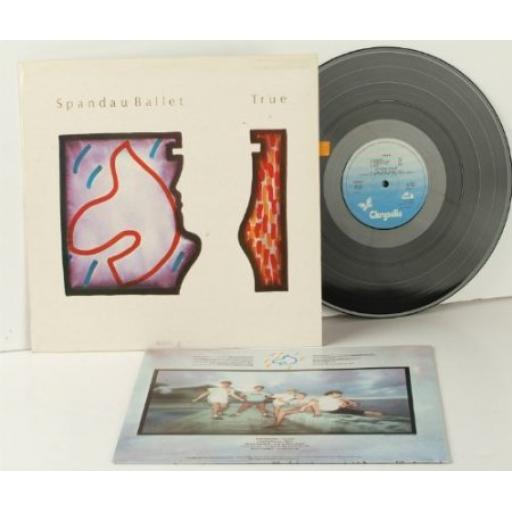 SPANDAU BALLET, 1 First Yugoslavian pressing. 1983. Chrysalis. [Vinyl]