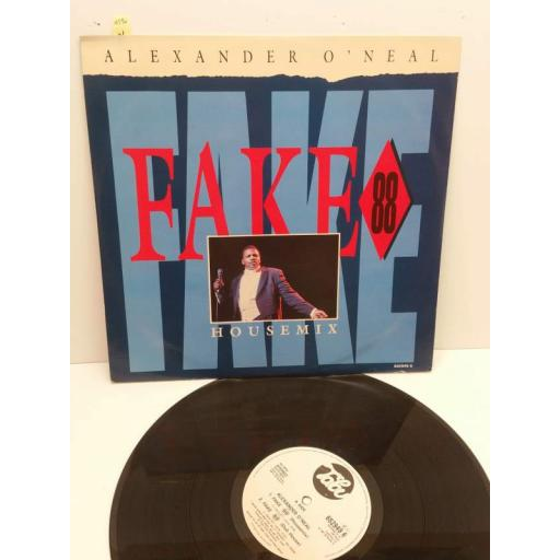 "ALEXANDER O'NEAL fake 88 house mix (12"" ep), 652949 6"